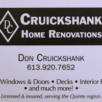 Cruickshank Home Renovations logo