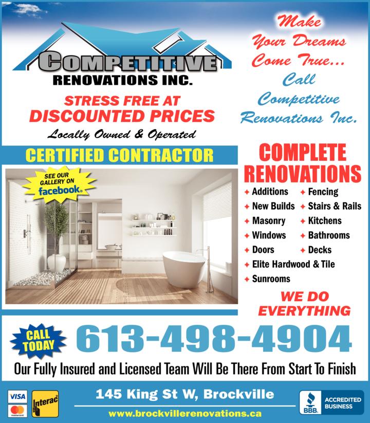Competitive Renovations Inc logo