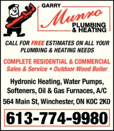 Munro Garry Plumbing & Heating logo