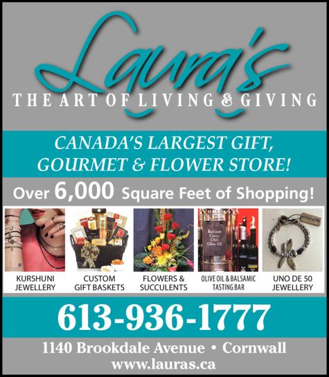 Laura's - The Art Of Living & Giving logo