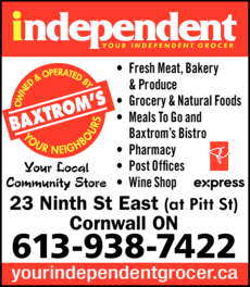 Baxtrom's Your Independent Grocer logo