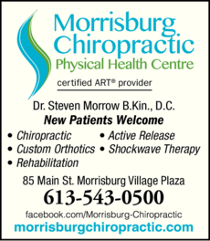 Morrisburg Chiropractic Physical Health Centre logo