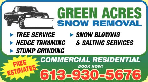 Green Acres Snow Removal logo