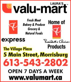 Laura's Valu-Mart logo