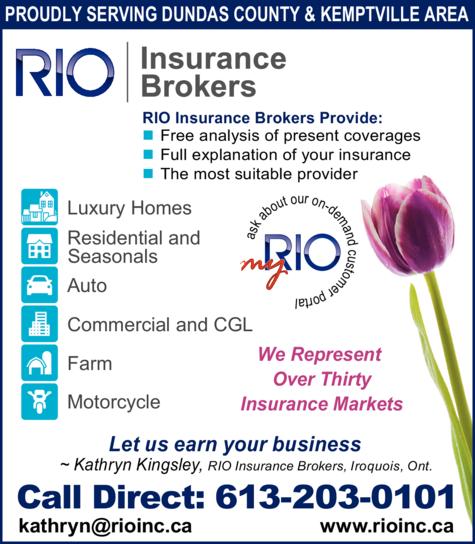 RIO Insurance Brokers Inc logo