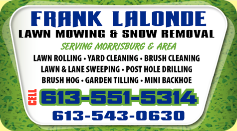 Lalonde Frank Lawn Mowing & Snow Removal logo