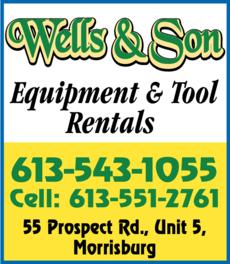 Wells & Son Equipment & Tool Rentals / Wells & Son Development Corp logo