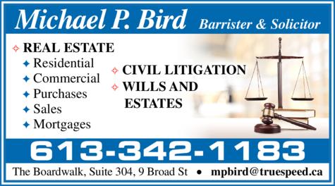 Bird Michael P Lawyer logo