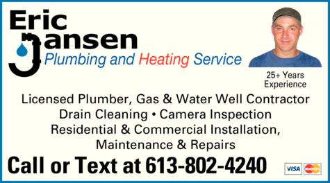 Eric Jansen Plumbing And Heating Service logo