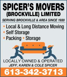 Spicer's Movers (Brockville) Limited logo