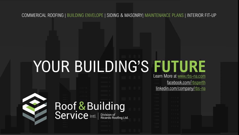 Roof & Building Service Intl logo