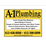 A1 Plumbing Pumps And Water Treatment logo