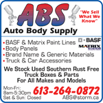 ABS - Auto Body Supply logo