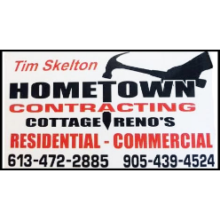 Hometown Contracting logo