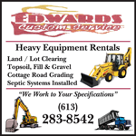 Edwards Custom Service logo