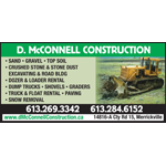 McConnell D Construction logo