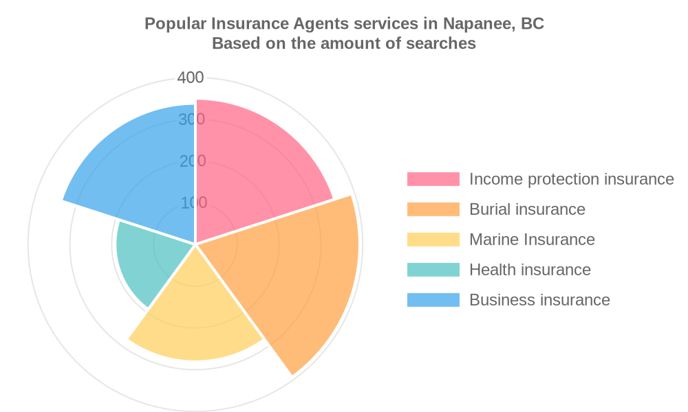 Popular services provided by insurance agents in Napanee, BC