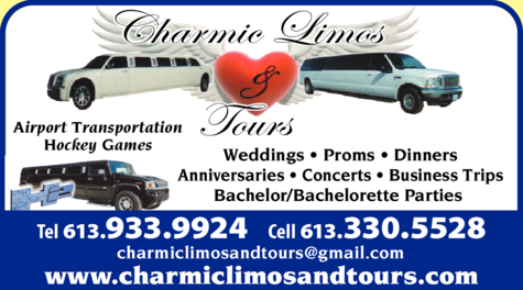 Print Ad of Charmic Limos & Tours