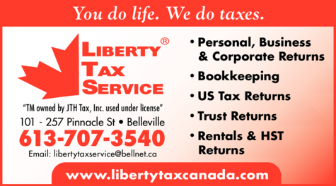 Print Ad of Liberty Tax Service