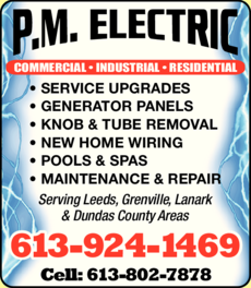 Print Ad of Pm Electric