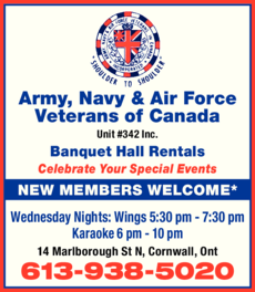 Print Ad of Army Navy & Air Force Veterans