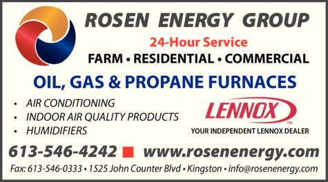 Print Ad of Rosen Energy Group
