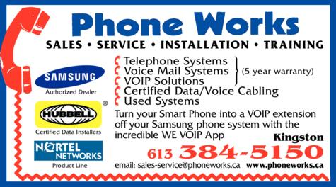 Print Ad of Phone Works