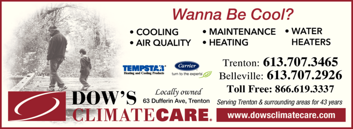 Print Ad of Dow's Climate Care