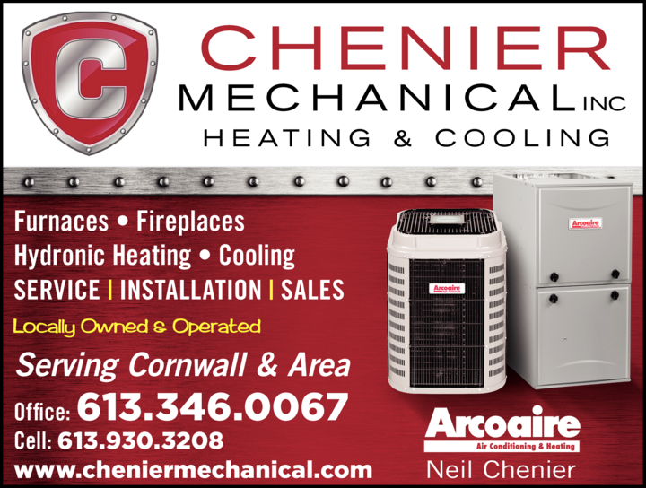 Print Ad of Chenier Mechanical Inc