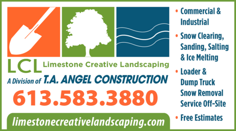 Print Ad of T A Angel Construction