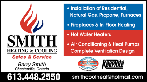 Print Ad of B Smith Heating & Cooling Inc