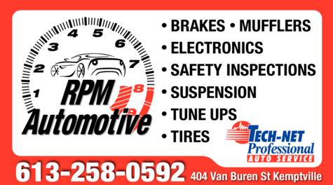 Print Ad of Rpm Automotive