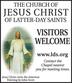 Print Ad of Church Of Jesus Christ Of Latter-Day Saints The