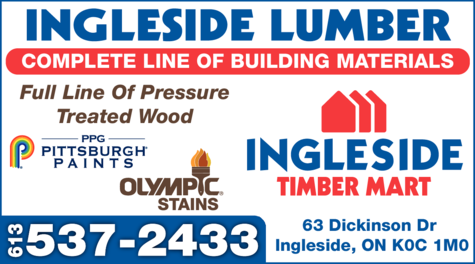 Print Ad of Ingleside Lumber