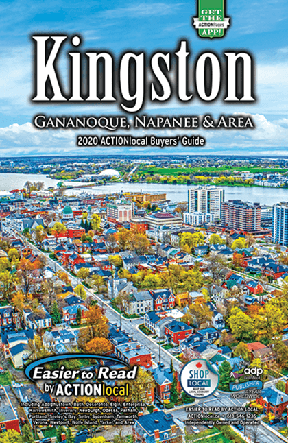 Kingston Print Directory Cover